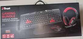 Combo Gamer, Teclado diademas mouse y mousepad