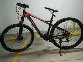 Bicicleta corleone rin29 talla L nueva