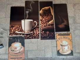Cuadros de café