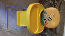 Vendo silla para comer de bebe