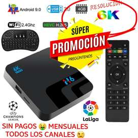 Caja Tv Box 4 RAM y Resolución 6k