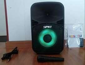Se vende parlante KALLEY SPK30B LED 30W + microfono + control remoto