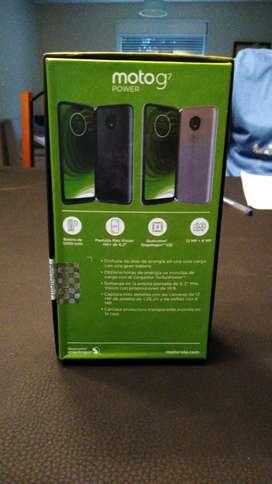 Vendo Motorola g7 power con 3 fundas cargador y templado
