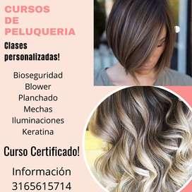 Clases personalizadas de peluqueria
