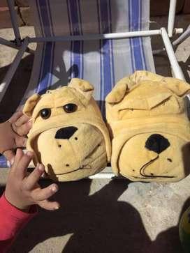 Pantufla para niños o niñas