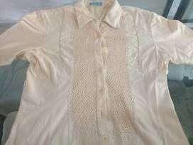 Conjunto blusa y panatalón