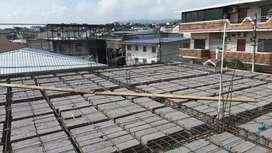 Trabajos de construccion por obra.