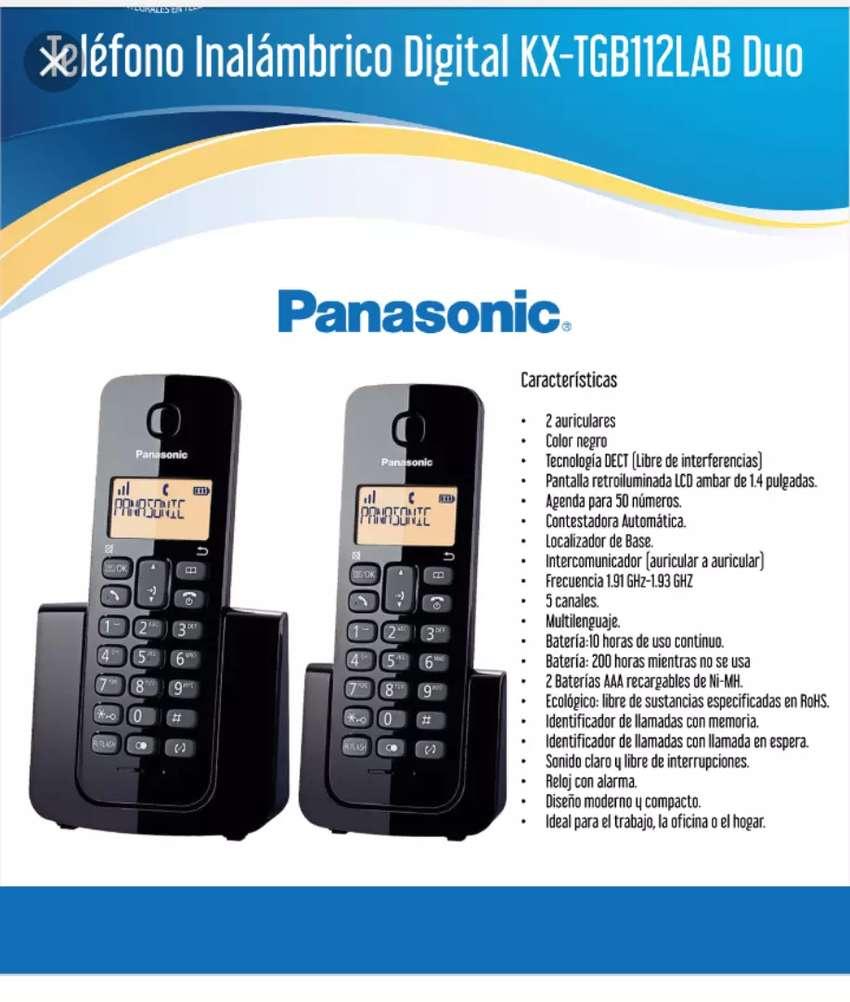 Teléfono inalámbrico Panasonic kxtgb112, $65 , nuevo 1año garantía,