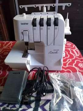 Máquina de Coser Industrial Brother 3034D 110v/220v (Bivolt) Usada