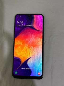 Samsung A50 64 gb (usado) impecable