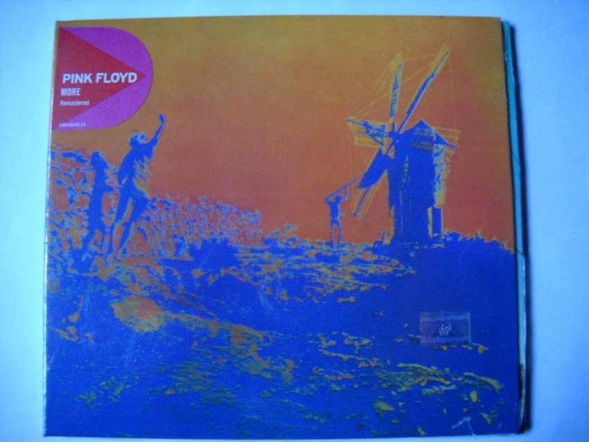 pink floyd more cd remastered sellado 0