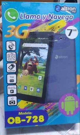 Tablet Altron 3G 7″ Quadcore 1GB RAM 16GB ROM  Dual SIM (Chip 3G),