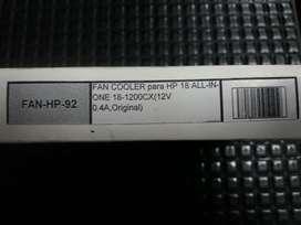 Fan Cooler para Hp 18 Todo en Uno 18