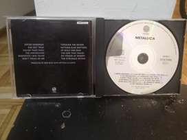 Cd metallica Black sin Contratapa