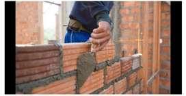 Hago todo tipo de trabajo de albañilería y construcción