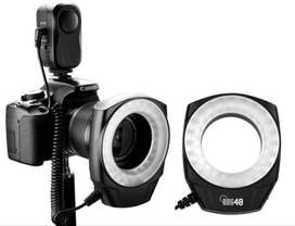 Ring Flash Godox Ring48 Luz Continua Led Macro Fotografia