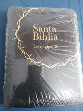 Biblia letra gigante RVR 60 con cremallera