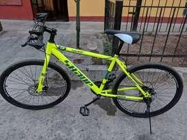 se vende bicicleta aro 26 un mes de uso como nueva