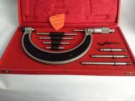 Micrómetro Facom (Francés) Exterior Juego De 0.50mm a125mm