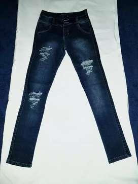 Jean azul elastizado 36