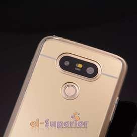 Funda Antigolpes Termoplastico Espejada LG G5