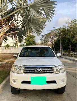 Toyota Fortuner 2011 Mecánica