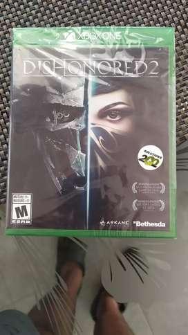 Juego de Xbox One Dishonored 2 Nuevo!!!