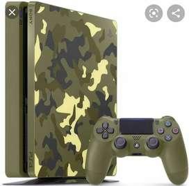 PS4 Slim EXCLUSIVO