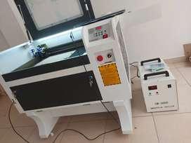 Maquina laser 60x40 TUBO DE 60W EFR