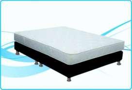 Gratis envió colchón semi ortopédico + base cama 140x190 + Regalo descuentos al por MAYOR