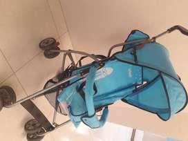 Venta paseador color azul claro-INFANTI