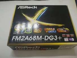 Combo placa madre + procesador Fm2a68m + Amd A6-6400k