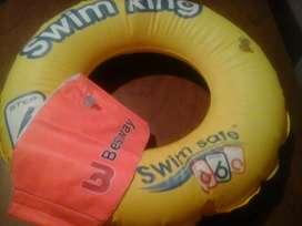 Vendo aro flotador para piscina para niños.