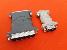 Adaptador extensión para cable paralelo y VGA para computador marca belkin