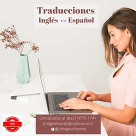 Traducciones ingles - español