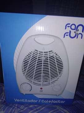 Ventilador Y Calefactor