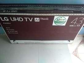 VENDO TV LG DE 43 Y DE 32 PULGADAS SMART TV NUEVOS EN CAJA PARA ESTRENAR ..