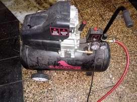 Compresor completo de 50 litros semi nuevo