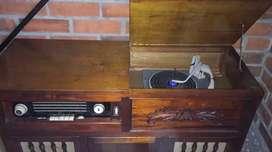 Equipo de sonido , Radiola , antiguo , funciona