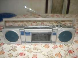 Raro Radiograbador Unicef 2000n Casetera Desomontable Func.
