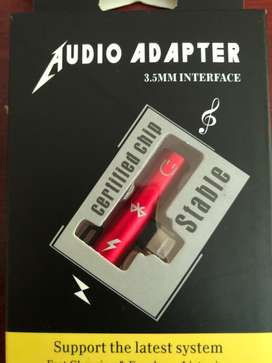 Adaptador iphone -auxiliar