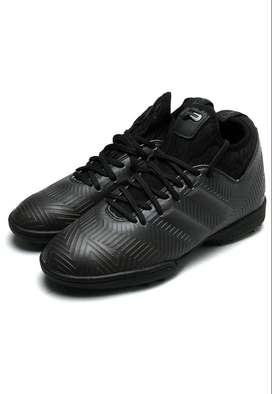 Zapatilla Patrick - Negro Original. Producto Nuevo. Fútbol. Sintética.