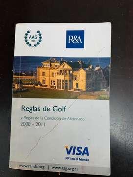 Reglas de golf del año 2008 al 2011