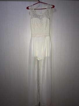 Vestido blanco de fiesta