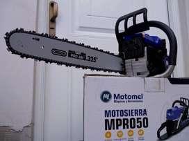 MOTOSIERRA MOTOMEL 50 CC