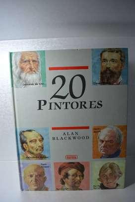 Libro 20 Pintores Alan Blackwood 1990