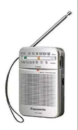 Panasonic Rfp50d Bolsillo Radio Amfm Plata Rfp50d