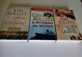 Los tres libros de la Trilogía CENTURY