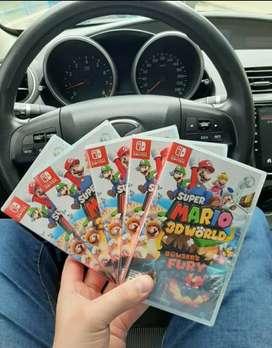 Vendo juegos para Nintendo switch