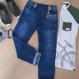Lindos jeans de niño  modelos unicos